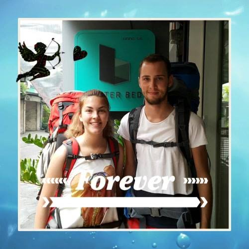 Danke ( Thank you 🙏🏻) 'Rebecca & Lukas' from Germany 🇩🇪 for your stay with Better Bed#betterbed #betterbedbkk #bedandbre...