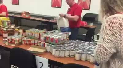 We're hard at work today getting food together for Backpack Buddies of Loudoun County Schools! It's important to give ba...