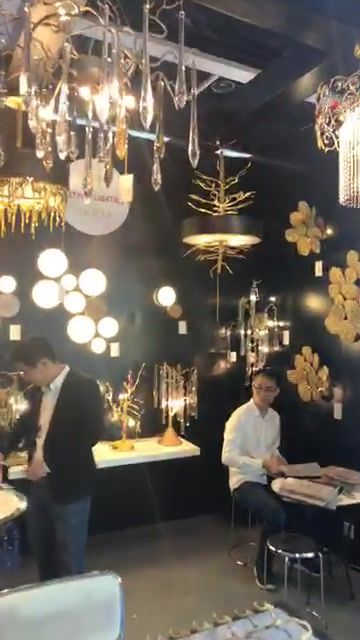 We are now at the Lighting Fair... let us know if you need anything in particular! We will try our best to bring the pro...
