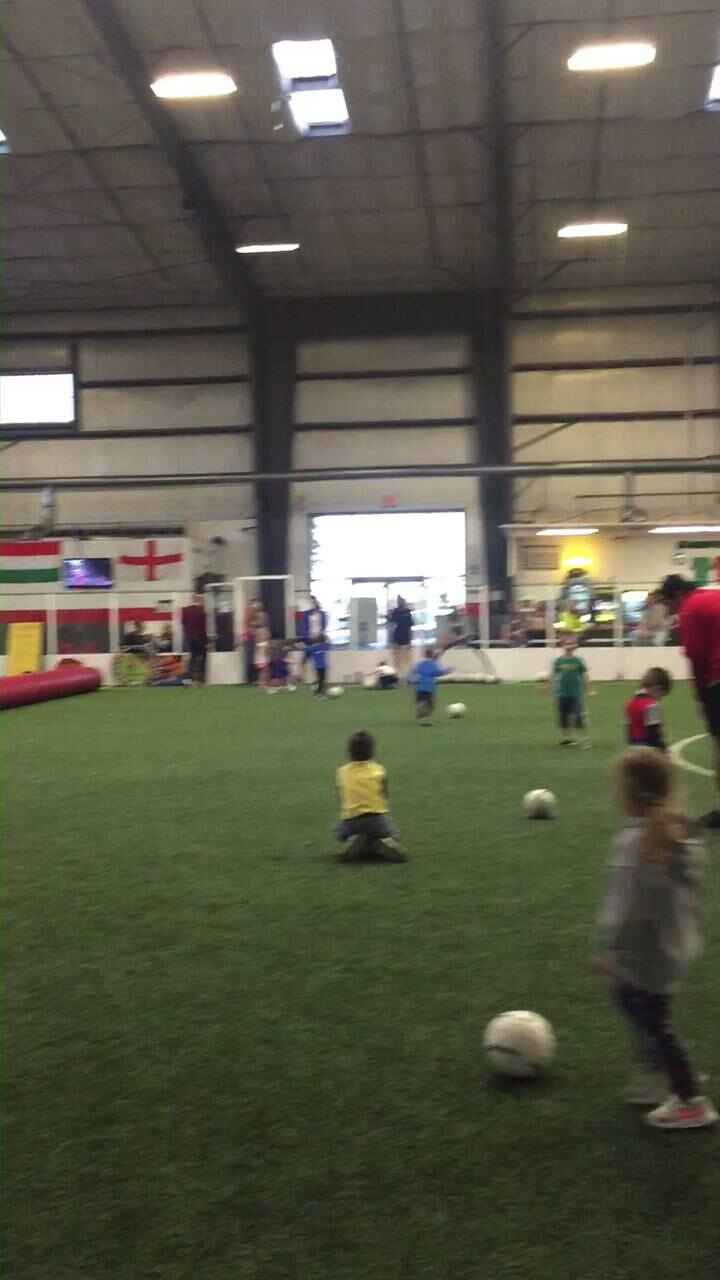 Typical Saturday at Soccer Cubs!