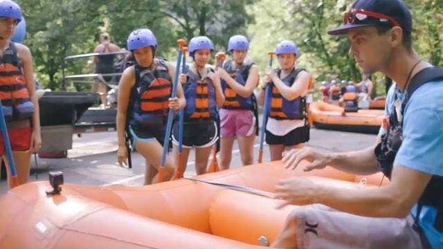 There simply isn't a better way to beat the heat than to climb into a raft and take off down a cool mountain river.—Sign...