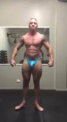 Posing Practice not long now! (Sorry about the poor quality)