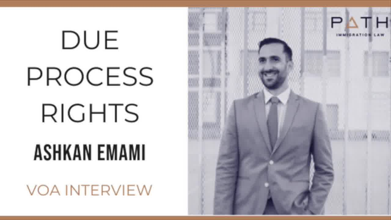 Ashkan Emami Interview with Voice of America