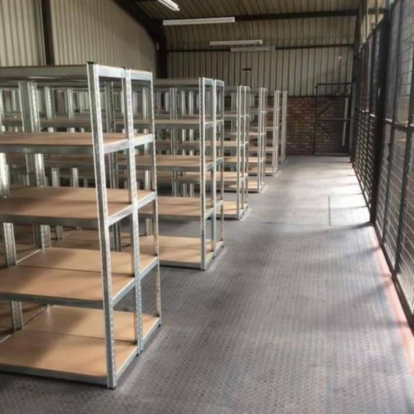 Another happy client. We installed 61 units of our latest DIY Shelving. Well done team! If you would like to buy this mu...