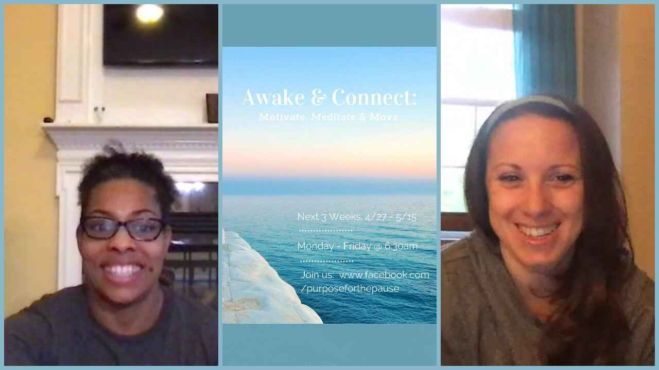 Awake & Connect: Motivate, Meditate & Move! Join us @ 6:30am to kickstart your miracle morning. Only 2 more days left!