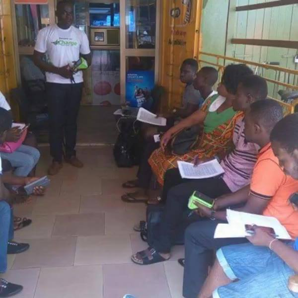 Our Nkawkaw Territory Manager introduces our airtime POS device. This POS device also gives instant loans to Agents base...