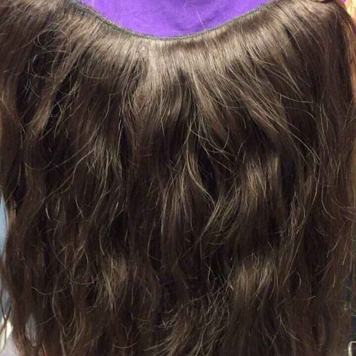 Made a upart wig unit to sew on a client. #options#wigs#hairextensions#hairextensionsatx#atxhair#austintxhair#atxsalon#a...
