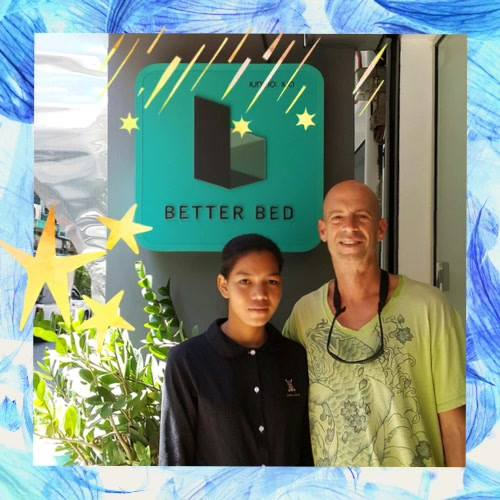 Thank you 🙏🏻 our guests 🇺🇸 🇰🇭 your stay with Better Bed.#betterbed #betterbedbkk #bedandbreakfast #backpacker #hostelbkk...