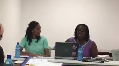 Dr. Aleah Ranjitsingh  (Adjunct faculty Caribbean Studies and Africana Studies) and University of the West Indies collea...