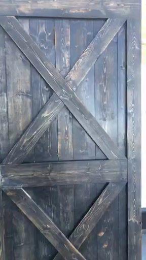#CCFLIVEUPDATE -Rigby Idaho Rustic Style Barn Door