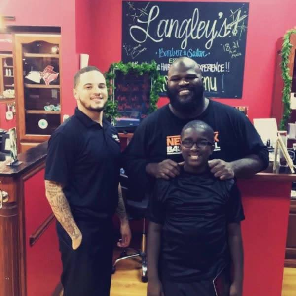 @Langleys, We are growing Daily with more great clients!! We are currently looking to Hire two New Stylists and/or Barbe...