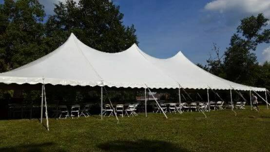 Another beautiful event tent.