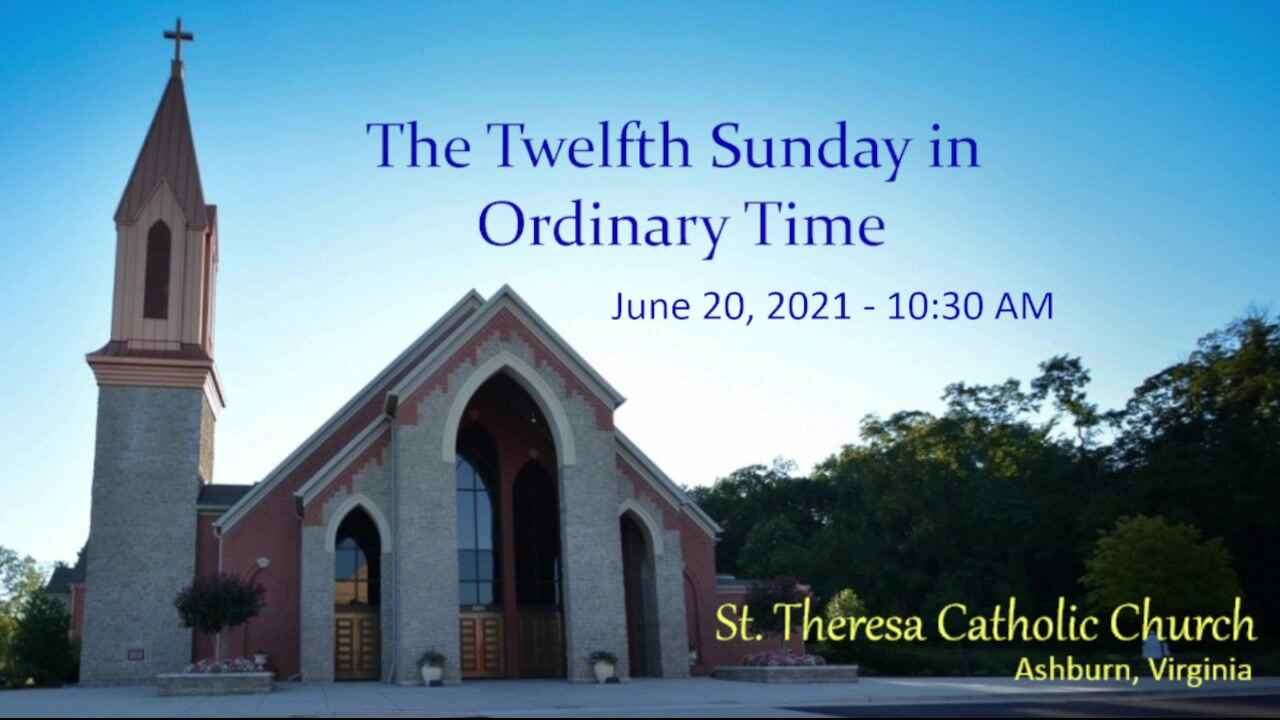 The Twelfth Sunday in Ordinary Time